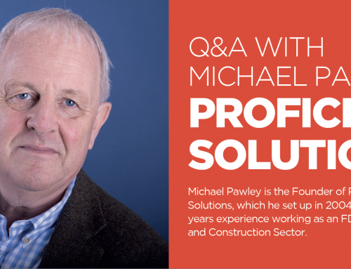 Q&A WITH MICHAEL PAWLEY