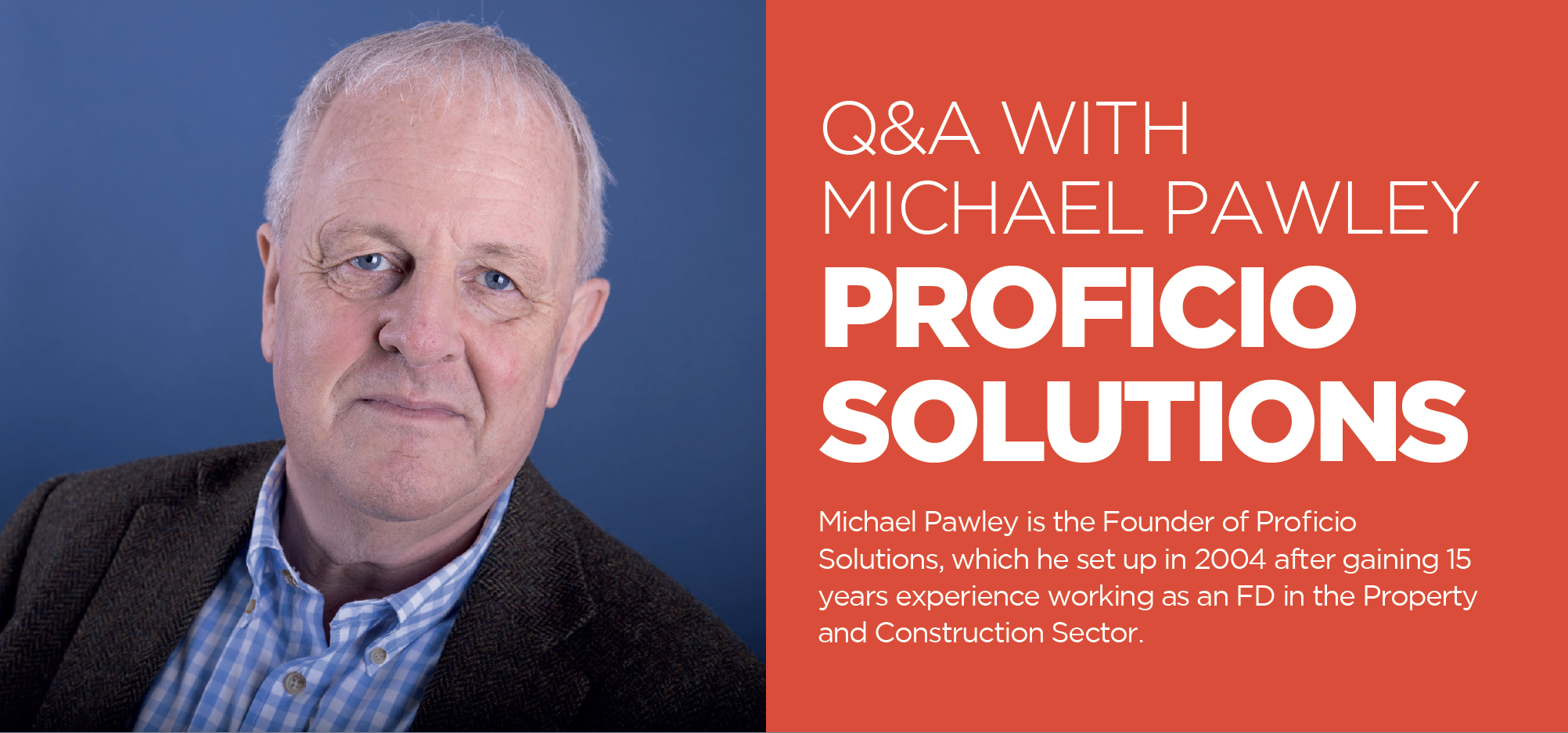 Q&A WITHMICHAEL PAWLEY